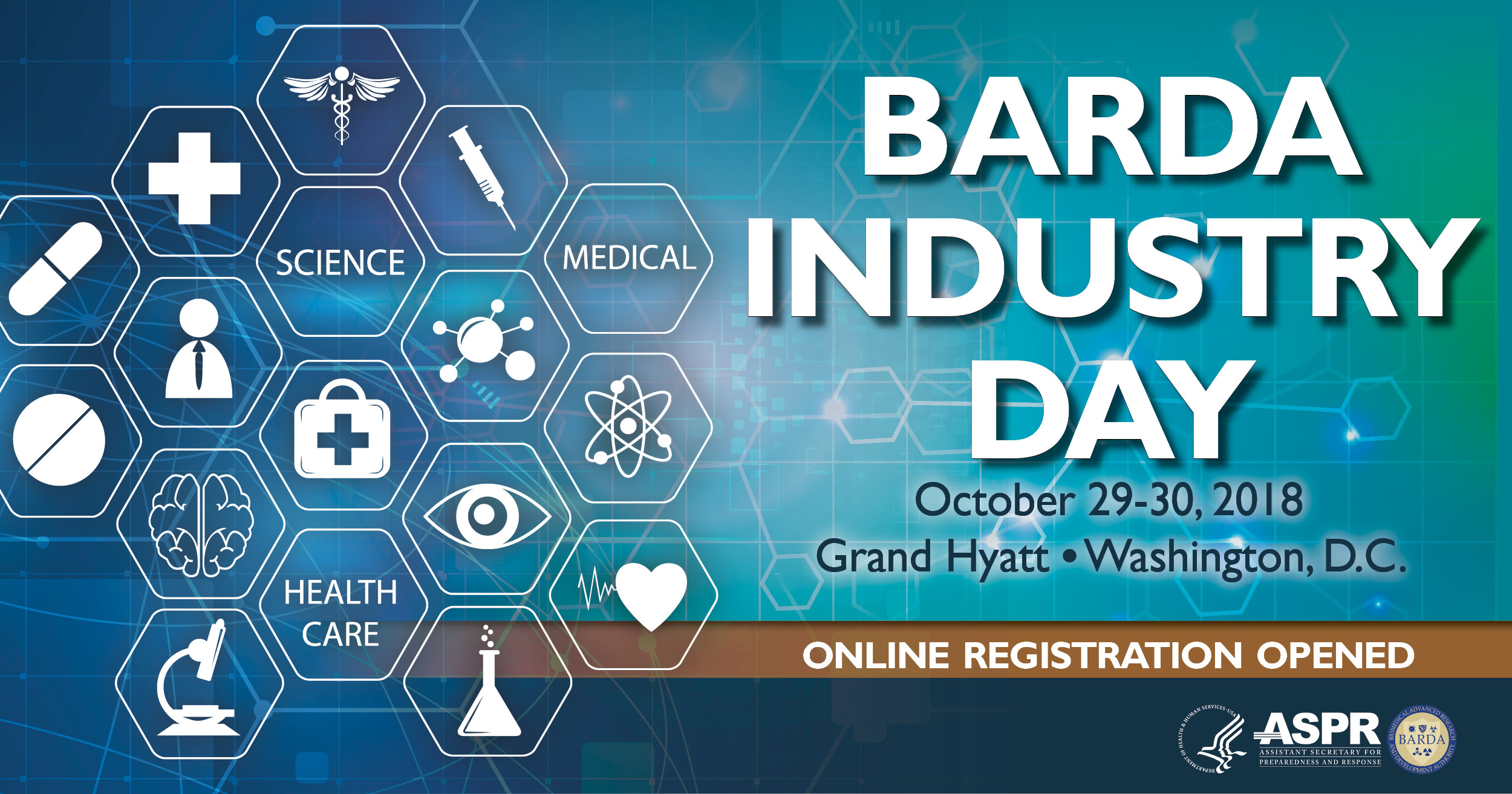 BARDA Industry Day Banner